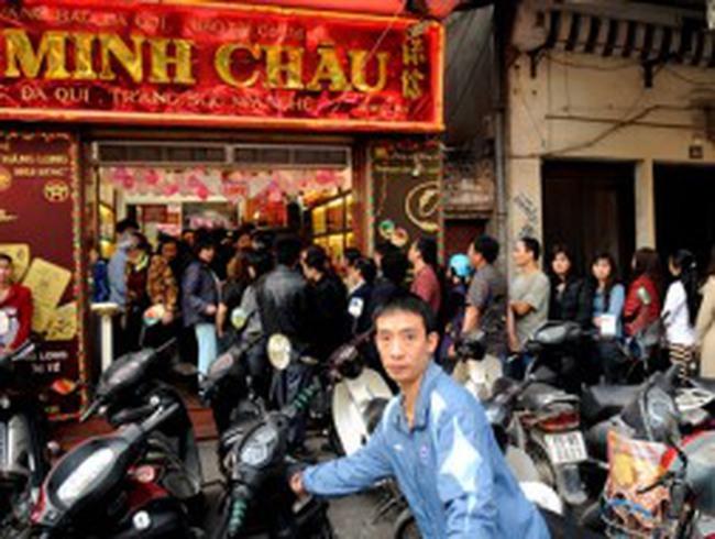 Một số tiệm vàng Hà Nội ngừng giao dịch