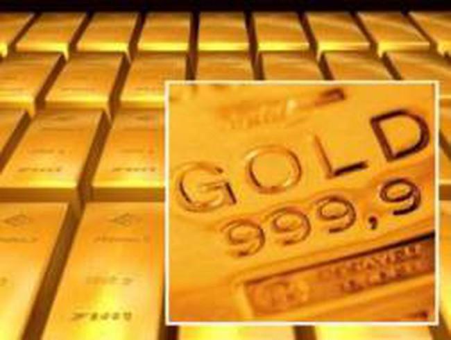 Lực mua bắt đáy giúp giá vàng tăng trở lại