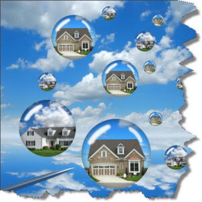 """""""Quả bóng"""" thị trường bất động sản chưa thể vỡ?"""