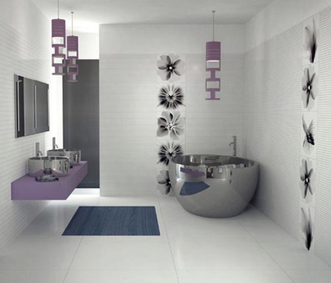 Những mẫu phòng tắm siêu độc đáo