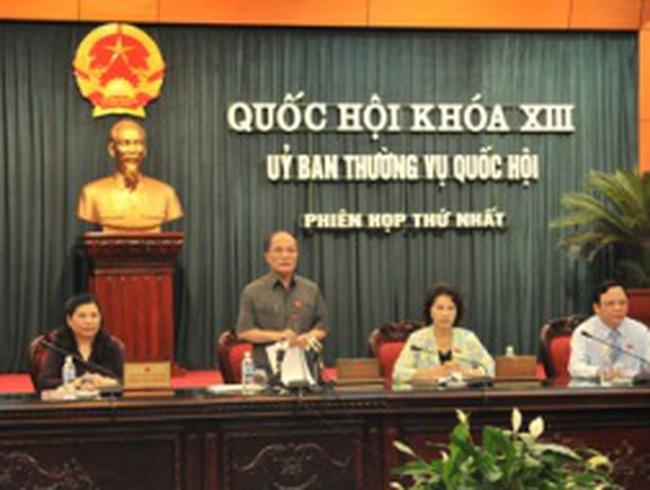 Phân công công tác Chủ tịch, các Phó Chủ tịch Quốc hội