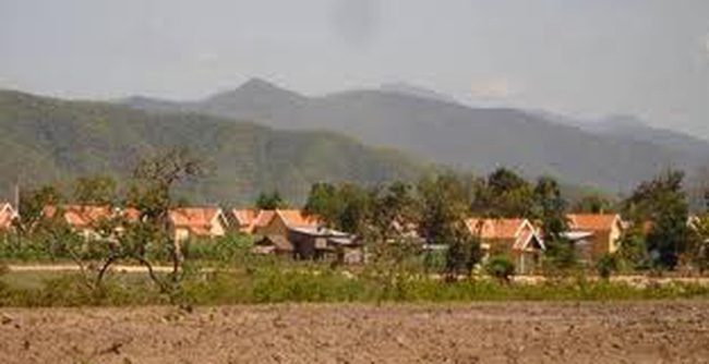 Hoàn thành xây dựng khu tái định cư dự án sân golf hồ Văn Sơn
