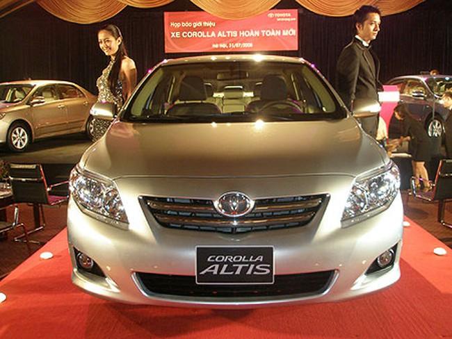 Toyota Việt Nam bị hải quan từ chối ưu tiên