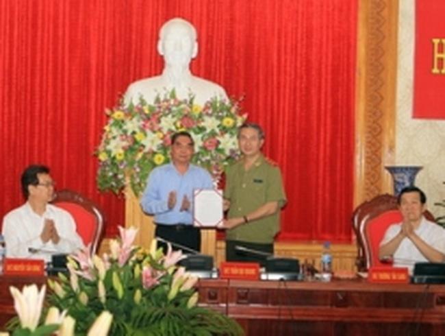 Ông Trần Đại Quang là Bí thư Đảng ủy Công an T.Ư
