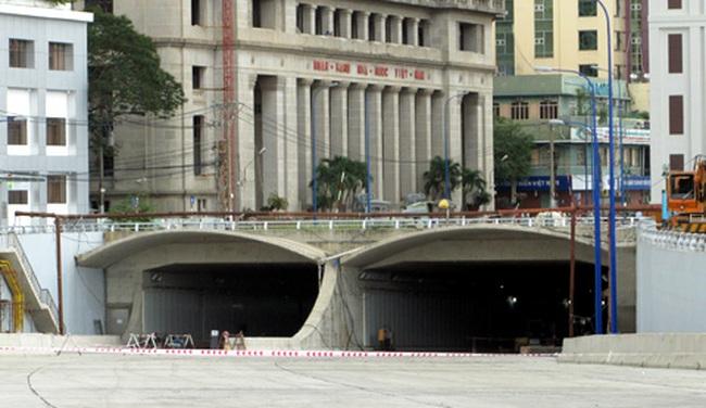 Lưu thông thử hầm vượt sông hiện đại nhất Đông Nam Á
