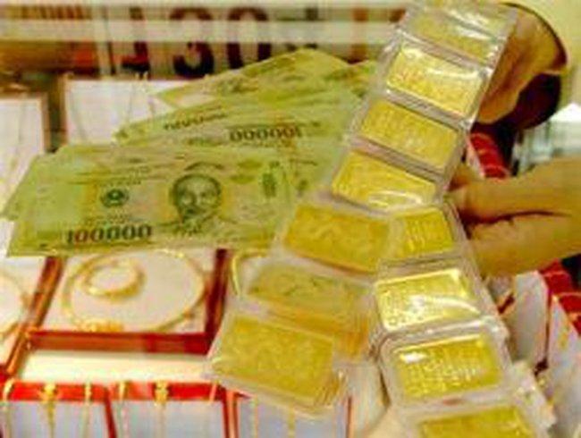 Ngày 31/8: Giá vàng tăng 750 nghìn đồng/lượng