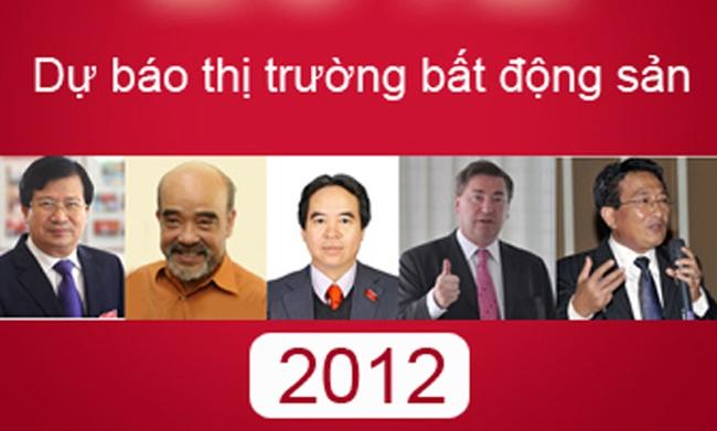 Bất động sản và những dự báo của năm 2012