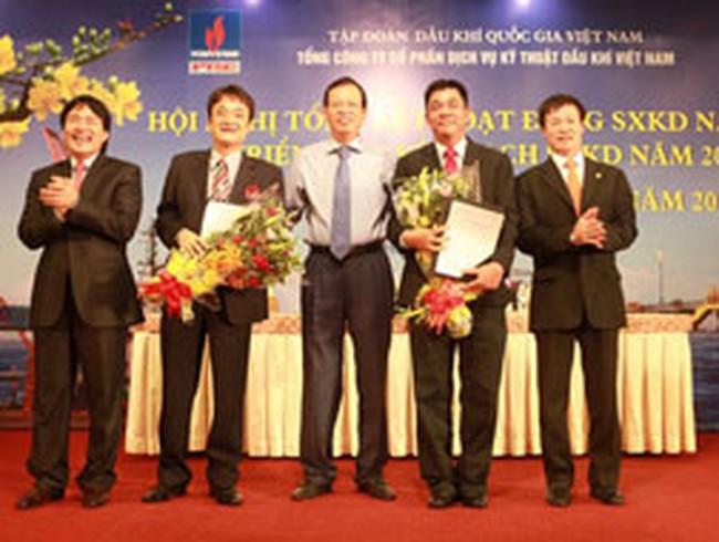 PVS: Năm 2012 đặt kế hoạch 950 tỷ đồng LNTT