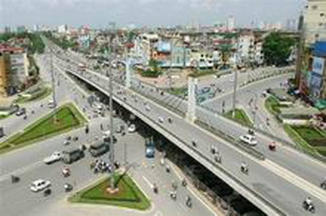 Xây cầu vượt tại nút giao thông Láng Hạ - Thái Hà và Chùa Bộc-Thái Hà