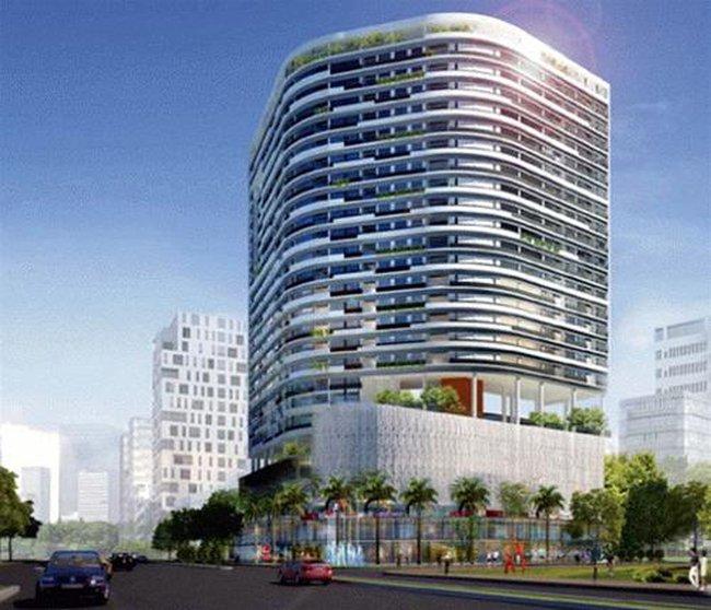 Dự án chung cư chuyển thành... chợ tạm