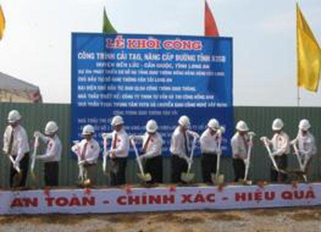 PPI: Khởi công xây dựng công trình cải tạo và nâng cấp đường tỉnh 835B