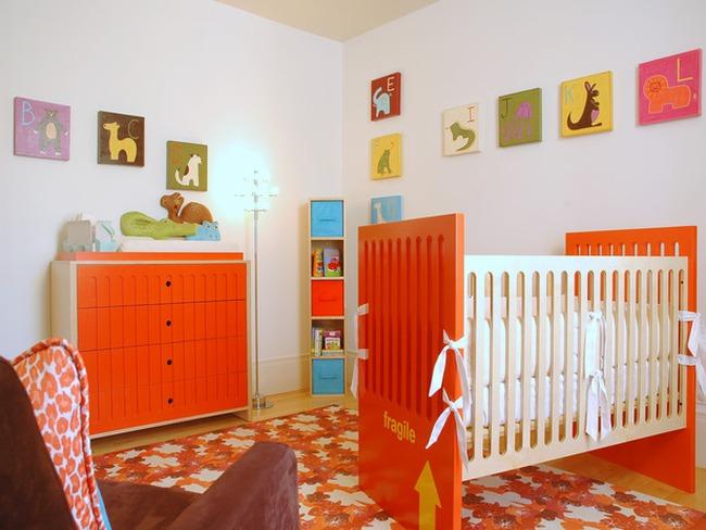Gửi tình yêu vào thiết kế phòng trẻ sơ sinh