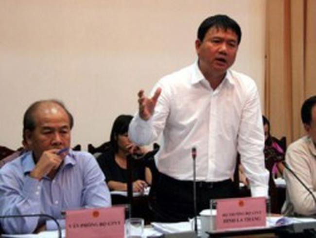 Bài toán tiến độ của Bộ trưởng Đinh La Thăng