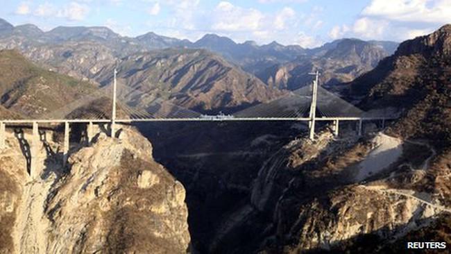 Mexico khánh thành cây cầu cao nhất thế giới