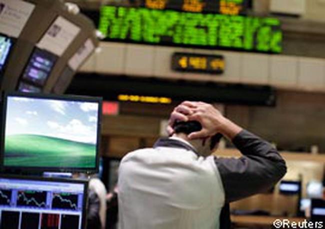 Dow Jones tăng nhẹ trong tuần đầu của năm 2012