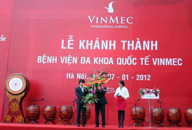 Khánh thành bệnh viện đa khoa quốc tế Vinmec