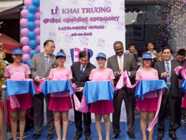Kem Mỹ đầu tiên nhượng quyền thương mại ở Việt Nam