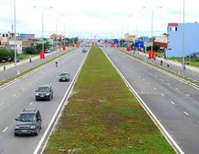 Trồng xong cây xanh toàn tuyến đại lộ Đông Tây