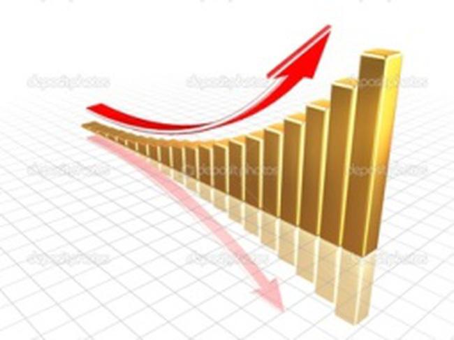 Vàng thế giới bất ngờ tăng 26 USD/ounce