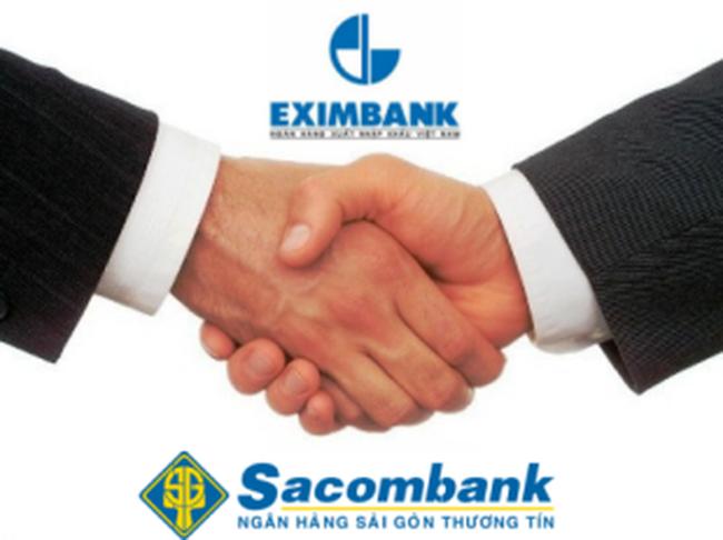 Eximbank trở thành cổ đông lớn nhất nắm 9,73% cổ phần của Sacombank