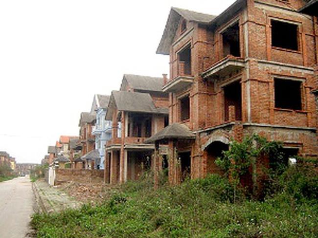Giá nhà các khu đô thị mới giảm mạnh