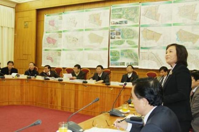 Hà Nội: Lãnh đạo thành phố nghe báo cáo 5 quy hoạch phân khu