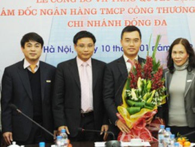 Tổng giám đốc VietinbankSC sang làm giám đốc Vietinbank chi nhánh Đống Đa
