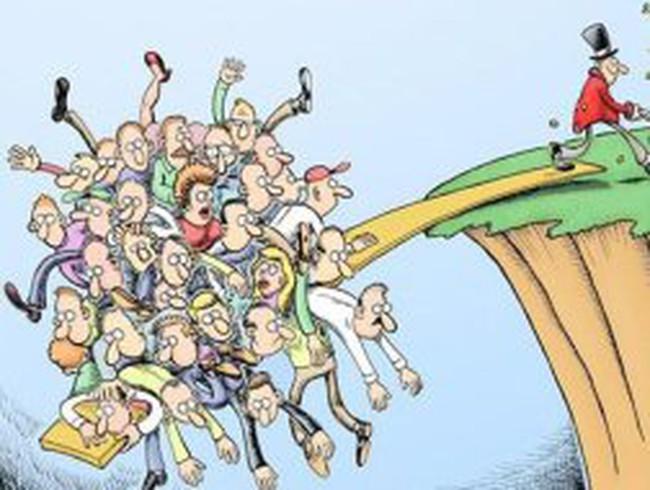 Chênh lệch thu nhập: rủi ro lớn nhất trên toàn cầu