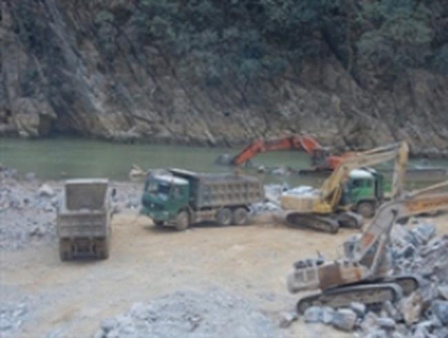 Nhà máy Thủy điện Nho Quế 3 vận hành tổ máy số 1