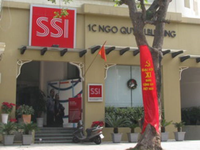 SSI: Đóng cửa thêm Phòng giao dịch 3/2