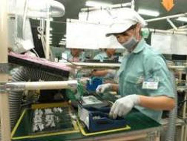 Công nghiệp tăng chậm lại
