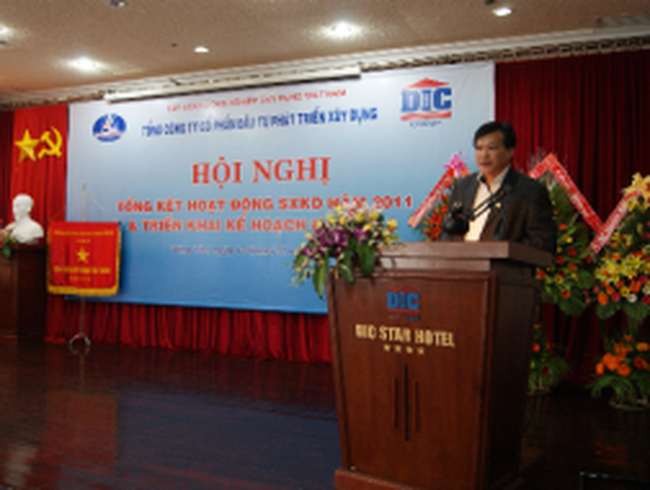 DIG: Công ty mẹ ước đạt 362 tỷ đồng LNTT, năm 2012 sẽ tái cấu trúc DN
