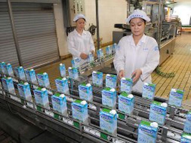 Vinamilk tăng 5 -7% giá sữa từ 23/1
