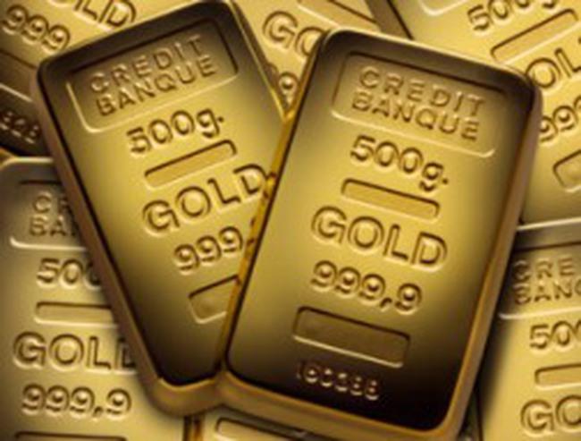 Giá vàng tăng 25 USD/ounce lên cao nhất 5 tuần nhờ mua kỹ thuật