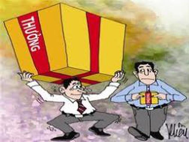 Kiến nghị không đánh thuế tiền thưởng tết