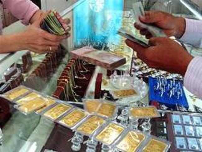 Giá vàng tăng 350 nghìn đồng lên 44,2 triệu đồng/lượng