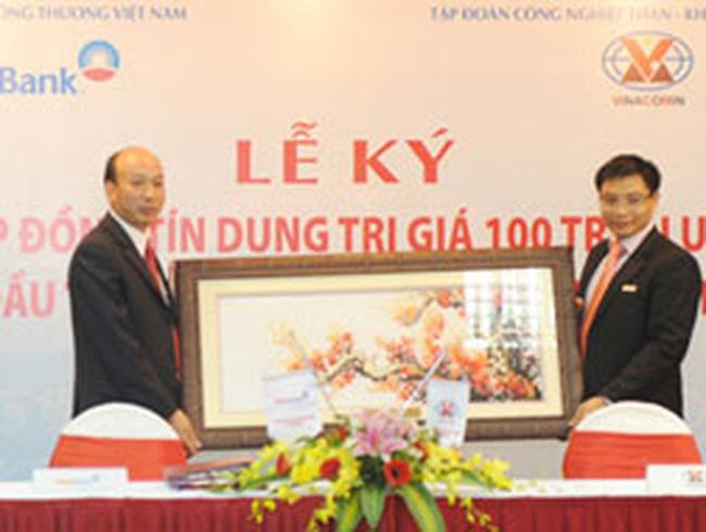 Vietinbank ký khoản tỉn dụng 100 triệu USD với Vinacomin