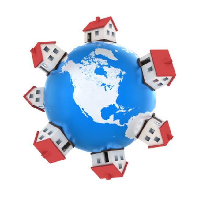 Chỉ số giá nhà ở toàn cầu tăng trưởng bằng 0