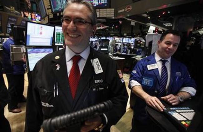 Tăng 2,4%, Dow Jones có tuần lên điểm mạnh nhất từ Giáng sinh