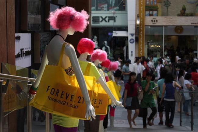 Hàn Quốc chờ đón người Trung Quốc sang tiêu tiền