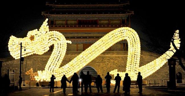 Tết năm Rồng rộn ràng tại châu Á