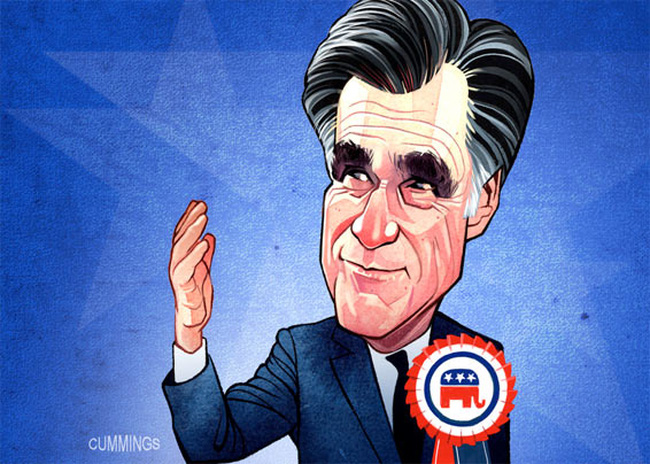 Mitt Romney giàu gấp 50 lần Tổng thống Obama