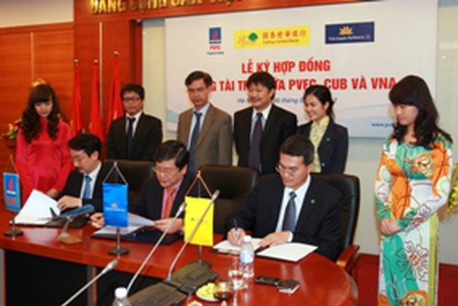 PVFC và NH Cathay United đồng tài trợ 7,2 triệu USD cho dự án của VNA