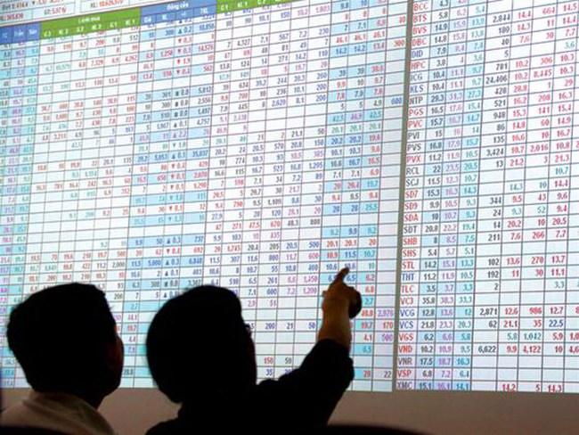9h30: HNX-Index xanh trở lại, nhóm ngân hàng tăng trần