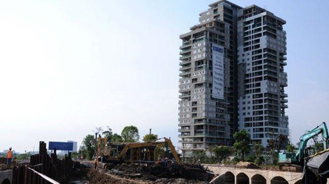 """6 chung cư xây vượt tầng tại """"đảo Kim Cương"""""""