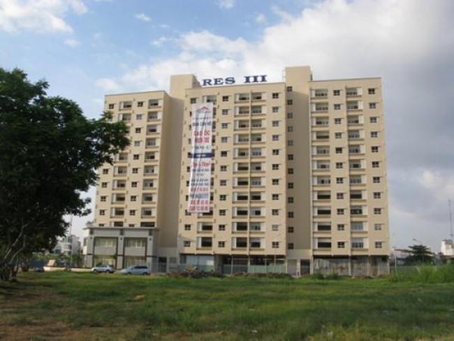 Giá bán căn hộ tại TP.HCM còn cao