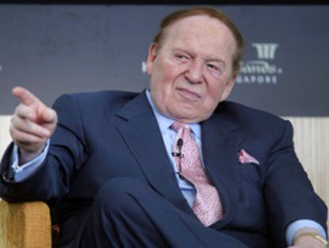 Chủ tịch Las Vegas Sands: 'Tôi không kiếm tiền của người nghèo'