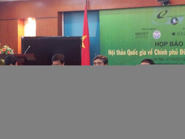 Hội thảo Quốc gia về Chính phủ điện tử 2012 sẽ diễn ra vào tháng 7/2012