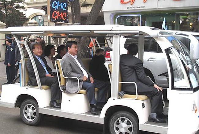 Bộ trưởng Thăng: 'Quyết liệt dành vỉa hè cho người đi bộ'