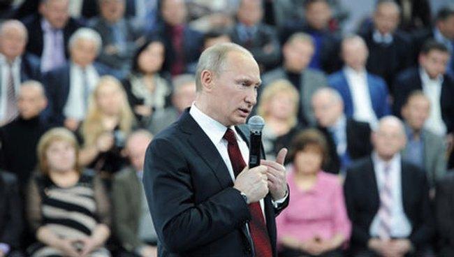 Vladimir Putin tuyên bố chiến thắng trong cuộc bầu cử Tổng thống
